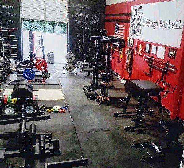 Top 75 best garage gym ideas home fitness center designs gym