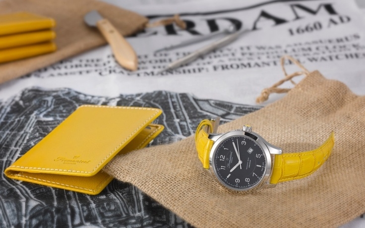 Abraham Black with yellow strap