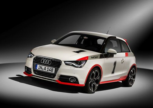 """A1 drivers can order the Audi A1 """"competition kit legends interior plus"""" from Audi Genuine Accessories exactly as it was presented at the GTI meet."""