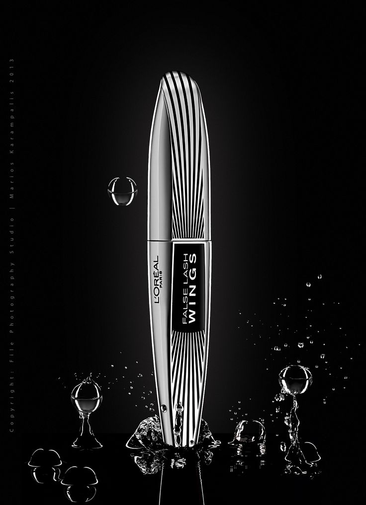 Concept: L'OREAL Flash Lash Self Promo Splash  Photography - Post Production: File Photography Studio   Marios Karampalis 2013