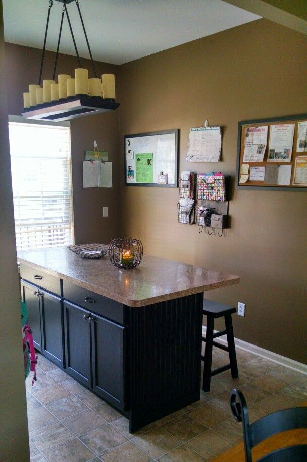 Kitchen Island Finally Done Island Is Unfinished Kitchen Cabinet Bases Surrounded With Bead