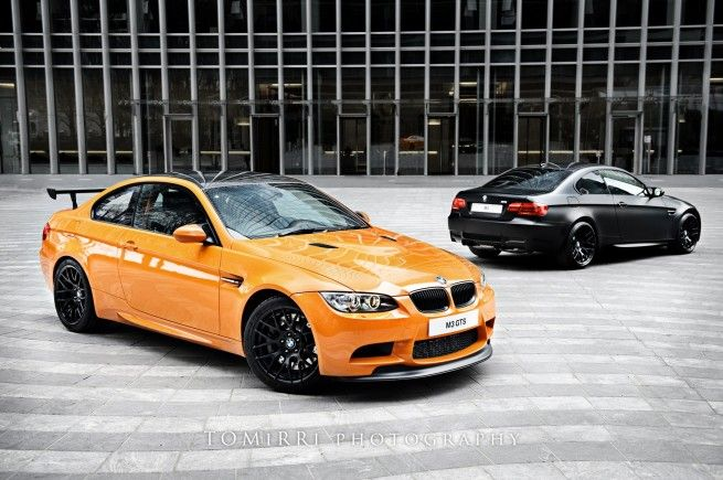 Photoshoot: BMW M3 GTS vs. M3 Frozen Black