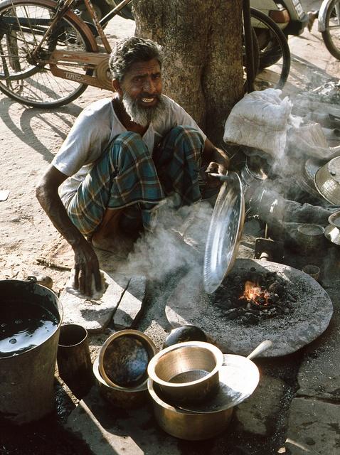 Handwerker in Jaipur (Rajasthan), via Flickr.