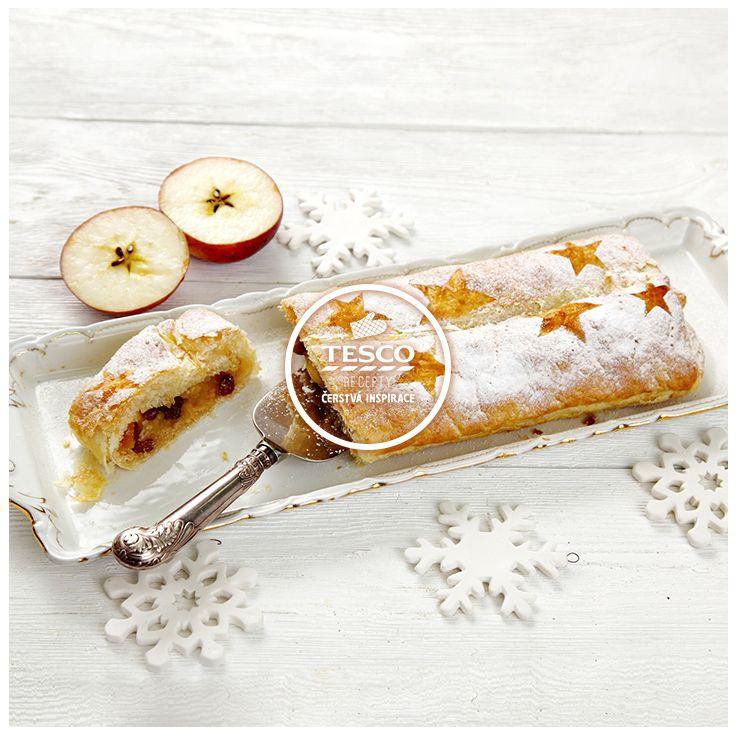 Vánoční štrúdl  http://www.tescorecepty.cz/recepty/detail/226-vanocni-strudl