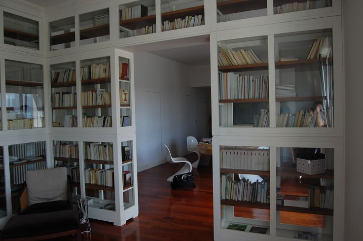 Libreria su misura realizzata da Rossi arredamenti di Osteria Grande ,Bologna…