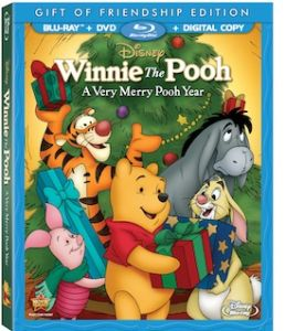 Winnie the Pooh A Very Merry Pooh Year BluRay/DVD Combo  US/Can 11/29