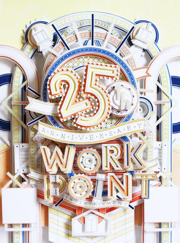 25th by Tawan Ithijarukul, via Behance