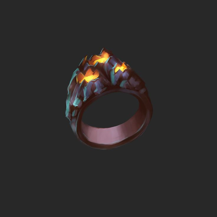 Game assets set on Behance #game art #ring #magic #game assets #rpg
