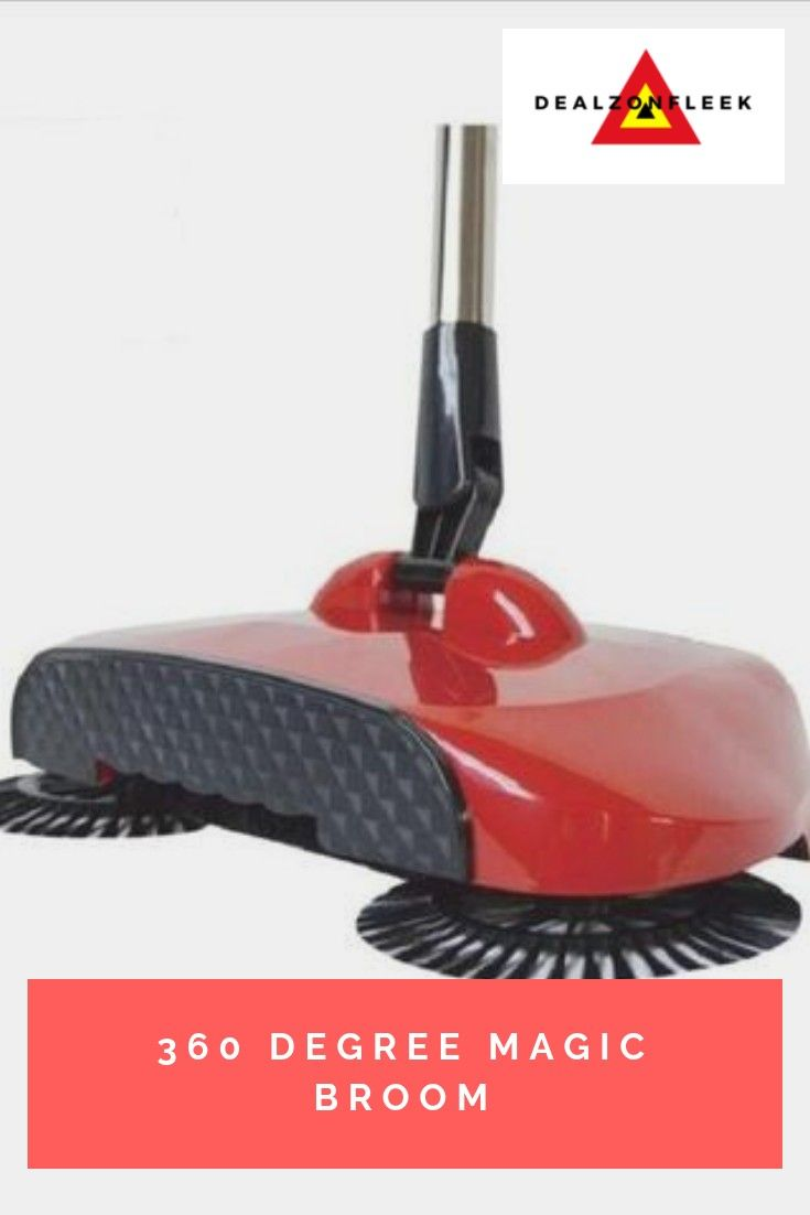 With Its 3 Spinning Brush Heads And The 360 Degree Rotational Action The Cordless Magic Broom Sweeper Sweeps Dust And Dirt Broom Floor Cleaner Household Tools