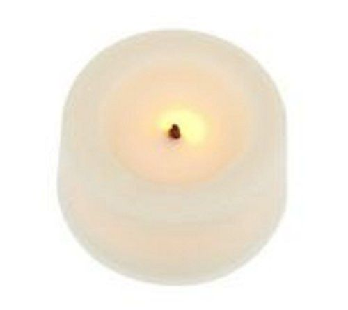 Candle Impressions Flameless Tealight Candles Set of 9 Cream Unscented - 3/4h