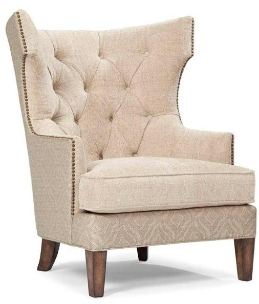 Quinn Traditional Quinn Accent Wing Chair By Rachlin Classics At Stoney  Creek Furniture