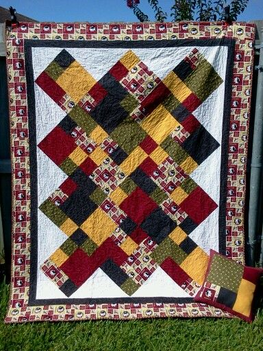 9 best images about Quilts - Take Five on Pinterest Quilt, Florida state university and Left over
