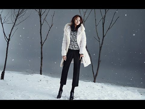 Nam Bo Ra's poses in a sweet coat for YESSE ads