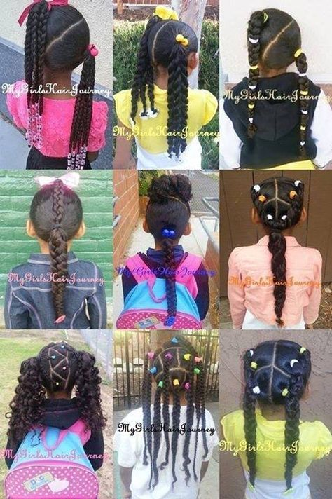 Hair Styles For Biracial Girls