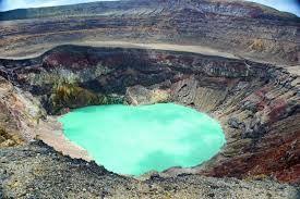 SALVADOR Santa Ana kráterové jezero