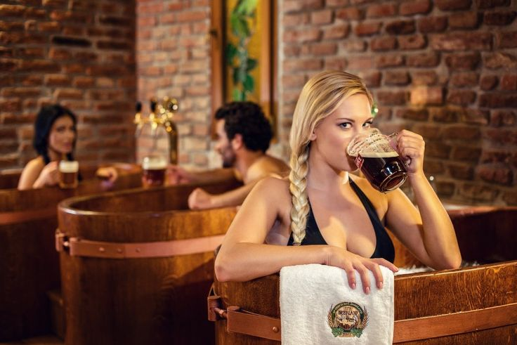 Another reason to move Prague up your travel bucket list...Beer Spa!
