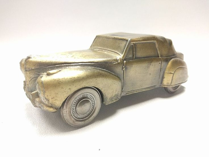 Vintage Banthrico 1941 Lincoln Continental Car Bank Chicago made in USA | Collectibles, Banks, Registers & Vending, Still, Piggy Banks | eBay!