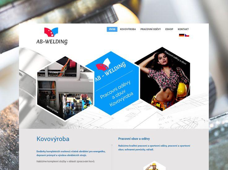 Webové stránky z oblasti strojírenství AB-WELDING s.r.o.