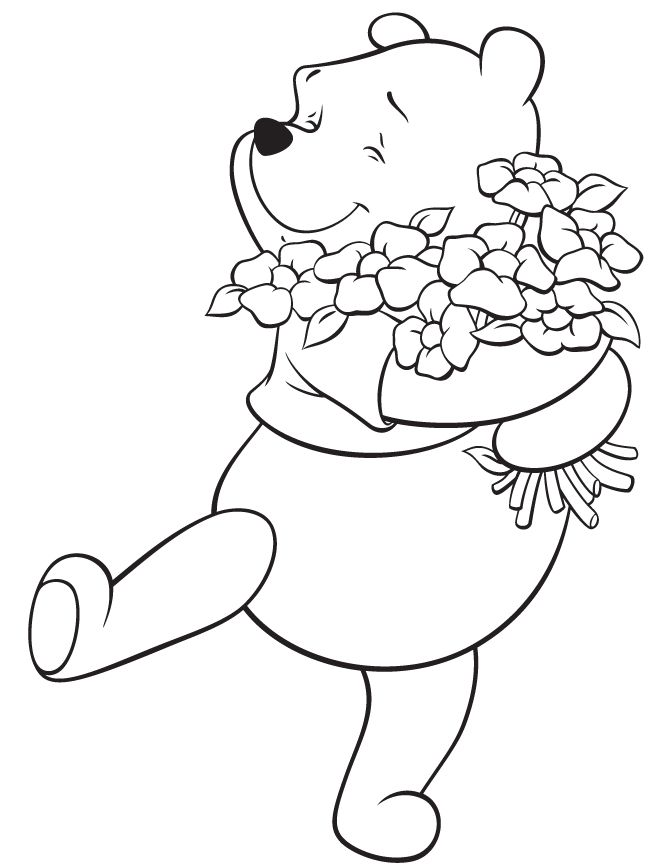 Winnie The Pooh Characters Coloring Pages Az Coloring