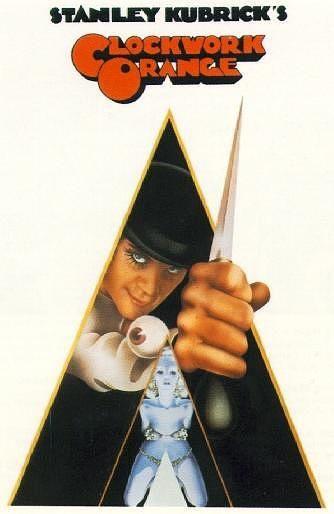 Stanley Kubrick, Anthony Burgess, Malcolm McDowell, Clockwork Orange