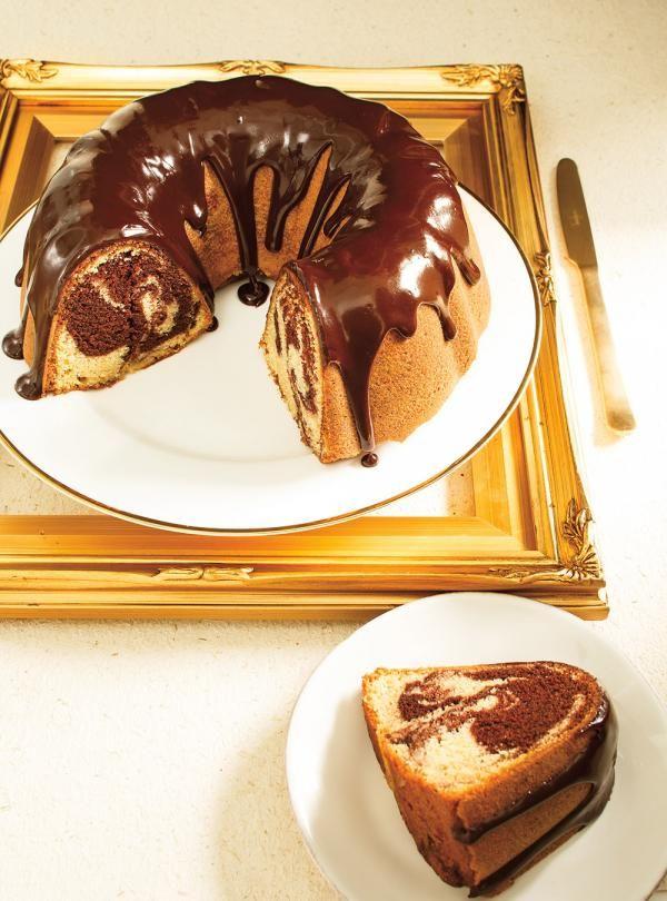 Ricardo's recipes : Marbled Chocolate Bundt Cake