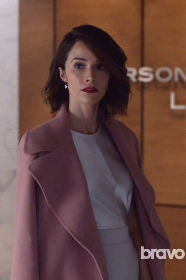 Dana Scott wearing  Marc Jacobs Double-Faced Cashmere Belted Coat