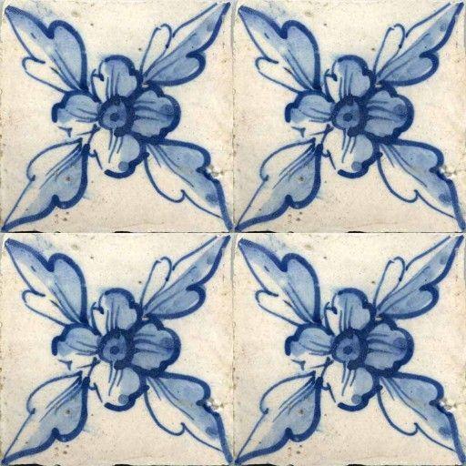 18th Century Portuguese - Solar Antique Tiles