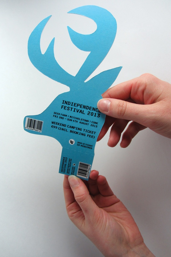 Indiependence Music and Arts Festival by Michelle Marks, via Behance