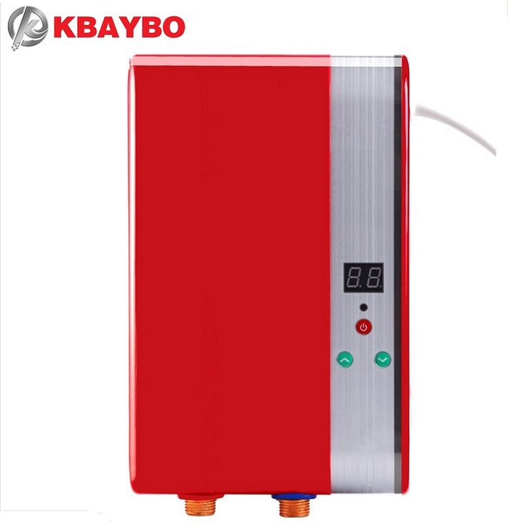 6000W Electric Shower Tankless Water Heater Instant Electric Instantaneous Water Heater Heating Instant Hot Water Heaters