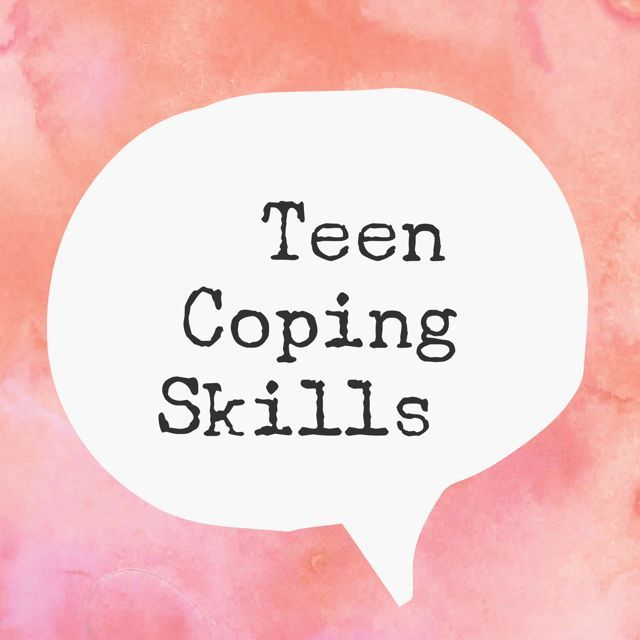 Teen Coping Skills: a list of things teens can do when feeling stressed or depressed.