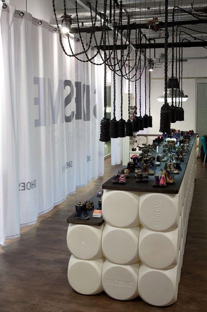 Shoesme store by Teun Fleskens, Tilburg store design