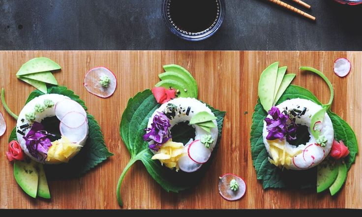 Sushi Donuts are the Latest Food Hybrid