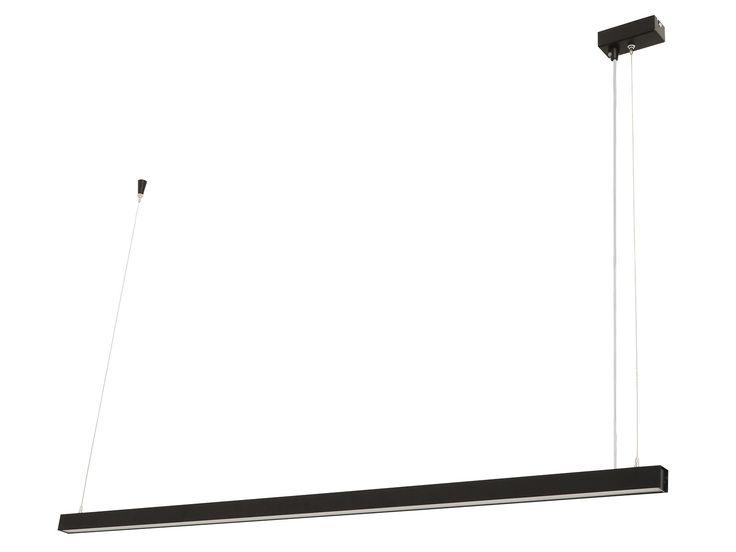 LEDlux Strix LED 1600 Lumen Dimmable Pendant in Black