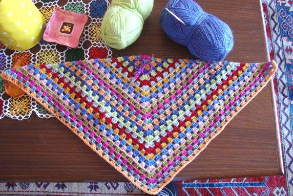 Good morning lovely ladies around the globe :) How's everything? So, I started something for myself with the sooooo beautiful yarn Joumana sent me…(Joumana, with every stitch I make I t…
