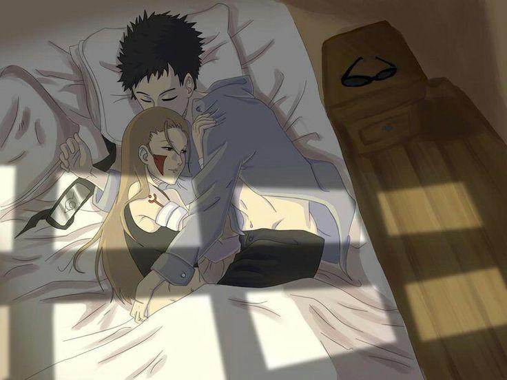 ShinoHana sleep together