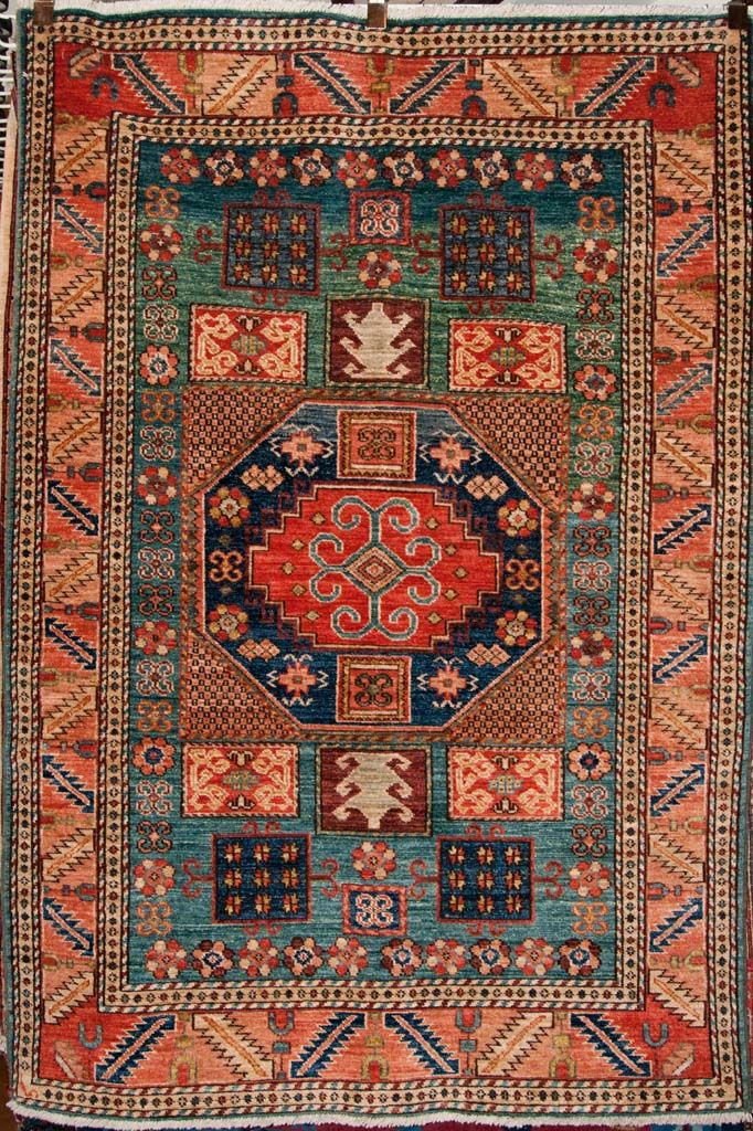 finest karachof kazak caucasian rug