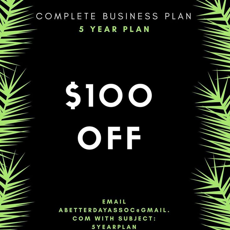 Do your Business have a Plan? A Better Day Than Yesterday Initiative Program is providing the service of Helping Entrepreneurs develop a 5 Year Business Plan to Secure Financing.  Business Plan will include Marketing Plan SWOTFinancial Projections in ExcelIn Depth Market Research.  If you are ready to start or take your business to the next level you need a Business Plan. Email Abetterdayassoc@gmail.com  #nevergiveuponu  #Business #plan #finance  #neversettle #entrepreneur…