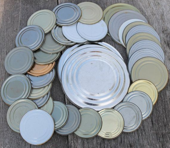 Tin Can Lids For Crafting Steel Lids Magnet Lids By