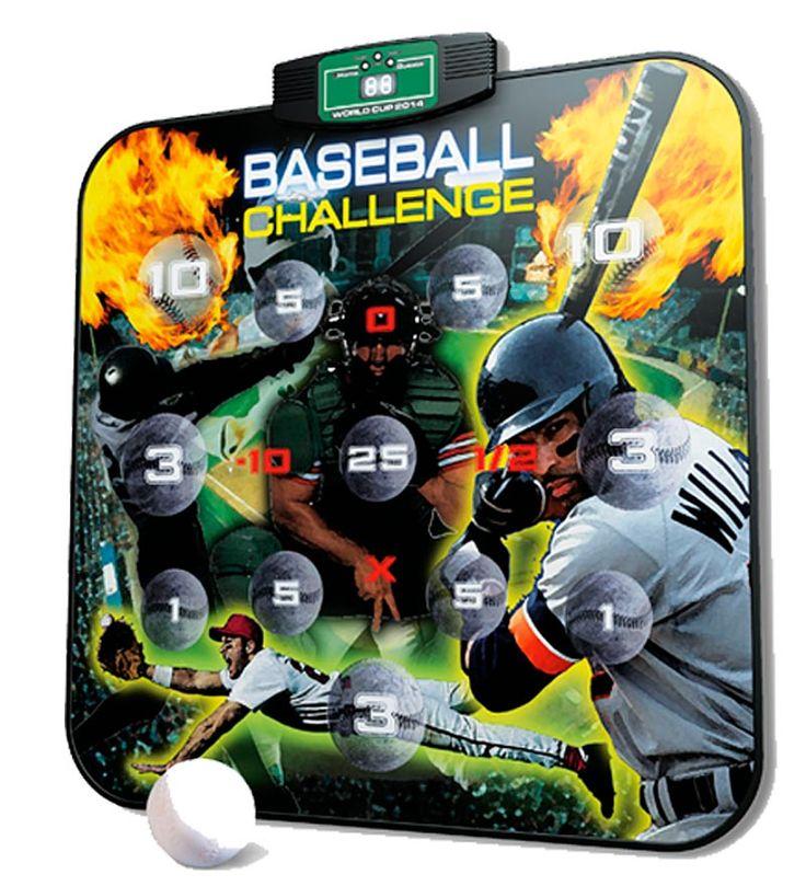 Electronic Baseball Challenge in Indoor Games Sports