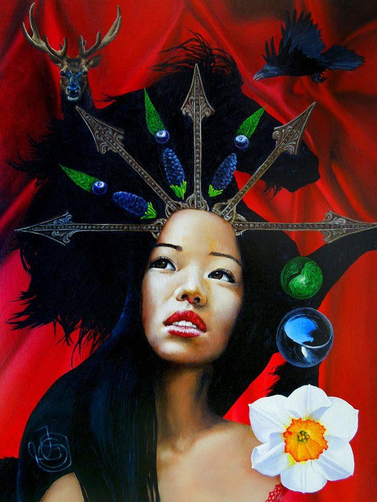 sagittaire par Johanna Uribes