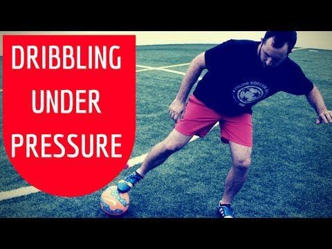In this video, you will learn how to play soccer under pressure.