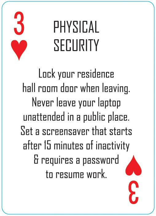 55 best Playing Cards by RIT Information Security images on - physical security specialist resume