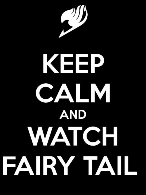 Anime: Fairy Tail Sadly, I haven't seen it. :( But I've heard so many good things about it! I hope to watch it soon!