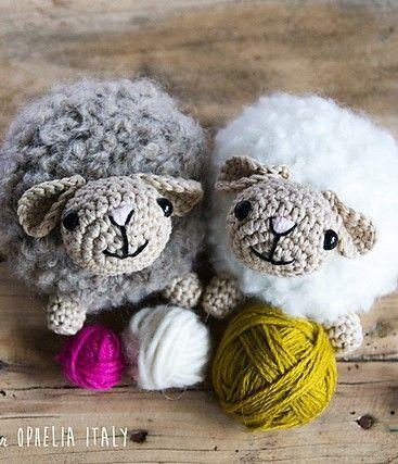 [Free Pattern] Super Fluffy And Soft Amigurumi Sheep