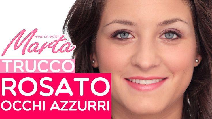 Un make-up fresco e veloce per tutte le ragazze con gli occhi azzurri: andiamo a vedere come fare in questo facile tutorial