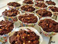Zdravě a hravě: Mandlové brownies muffiny