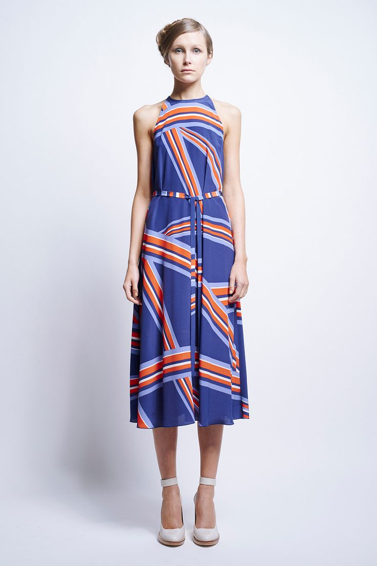 Karen Walker - Pulsar Halter Dress