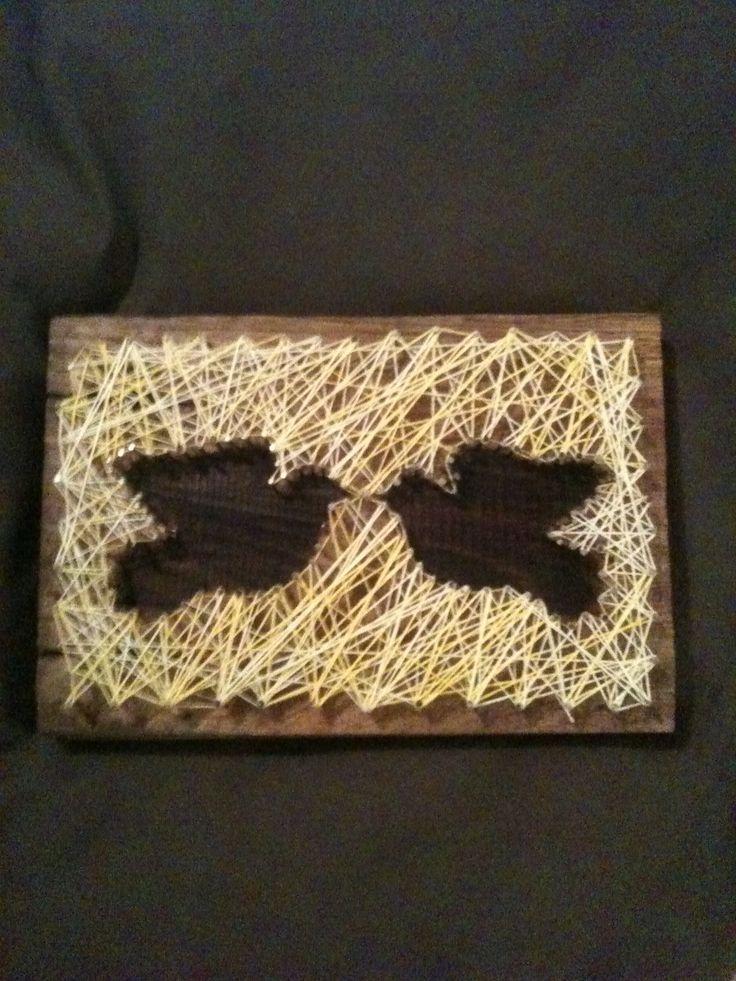 Doves-string art
