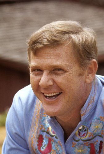 Martin Milner at home