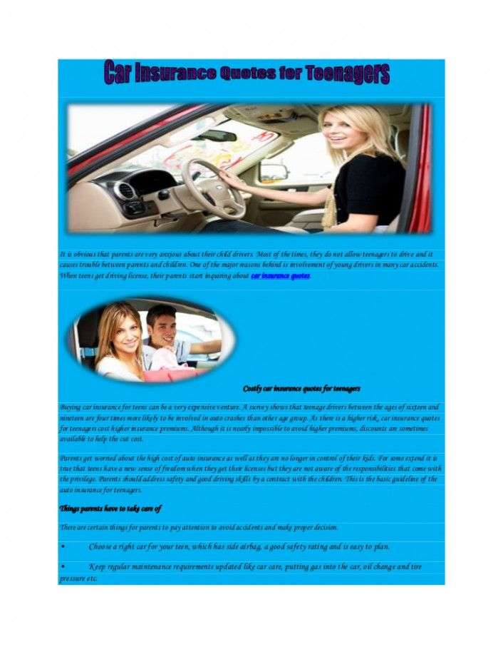 Ten Exciting Parts Of Attending Auto Insurance Quotes Online